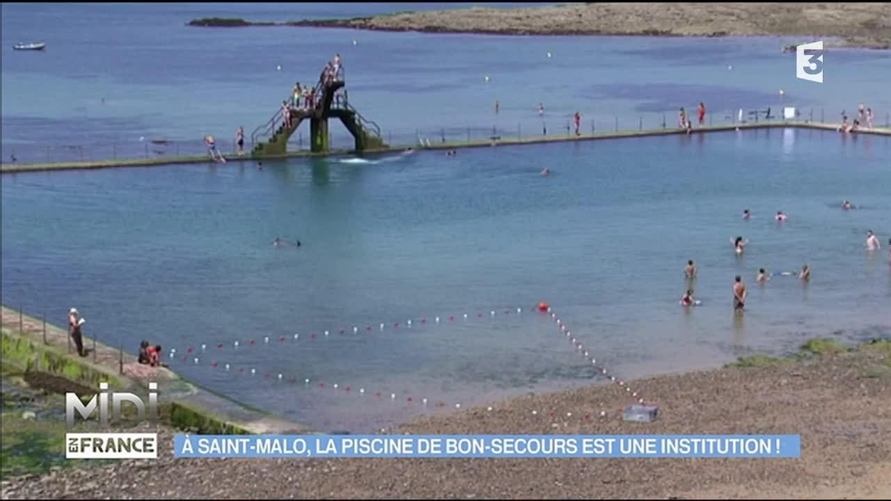 La Piscine Bon-Secours, Une Véritable Institution De Saint-Malo pour Piscine St Malo