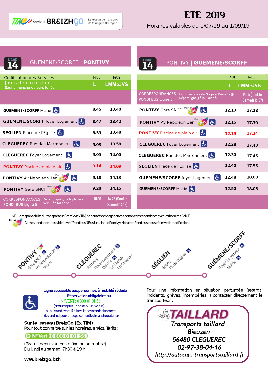 La Piscine De Plein Air De Pontivy | Sarl Transports Taillard concernant Horaire Piscine Pontivy