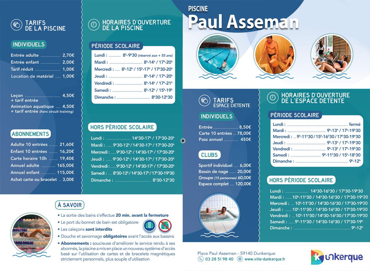 La Piscine Paul Asseman encequiconcerne Piscine Paul Asseman