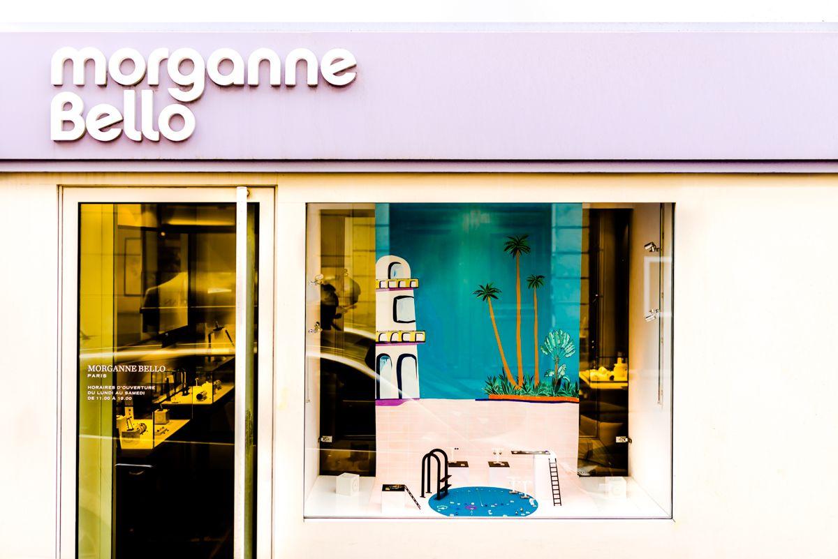 La Piscine, #vitrine @morgannebelloparis #windowdisplay ... encequiconcerne Salon De La Piscine 2017