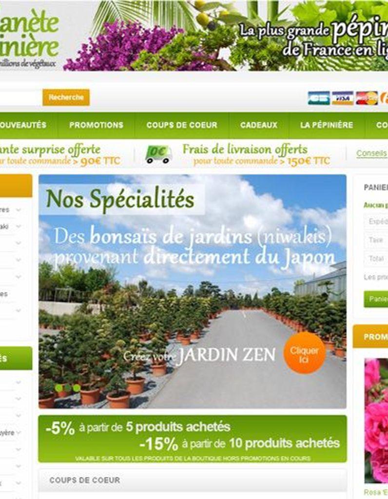 La Plus Grande Pépinière De France Ouvre Sa Boutique En ... destiné Piscine Pepiniere