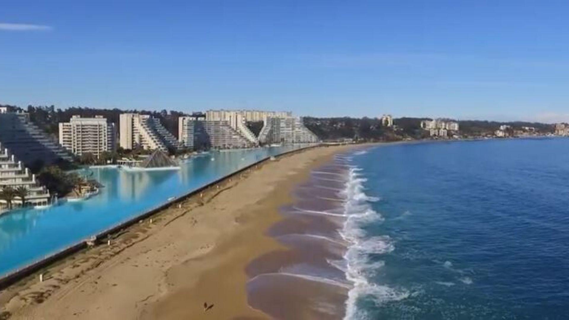 La Plus Grande Piscine Du Monde Se Trouve Au Chili - Innovant.fr à Plus Grande Piscine Du Monde