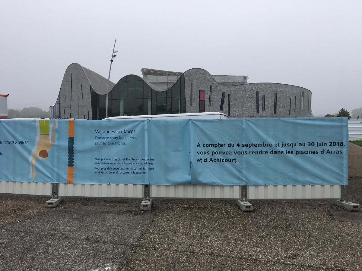 La Réouverture De L'aquaréna D'arras Prévue Le 27 Août ... dedans Piscine Arras Aquarena
