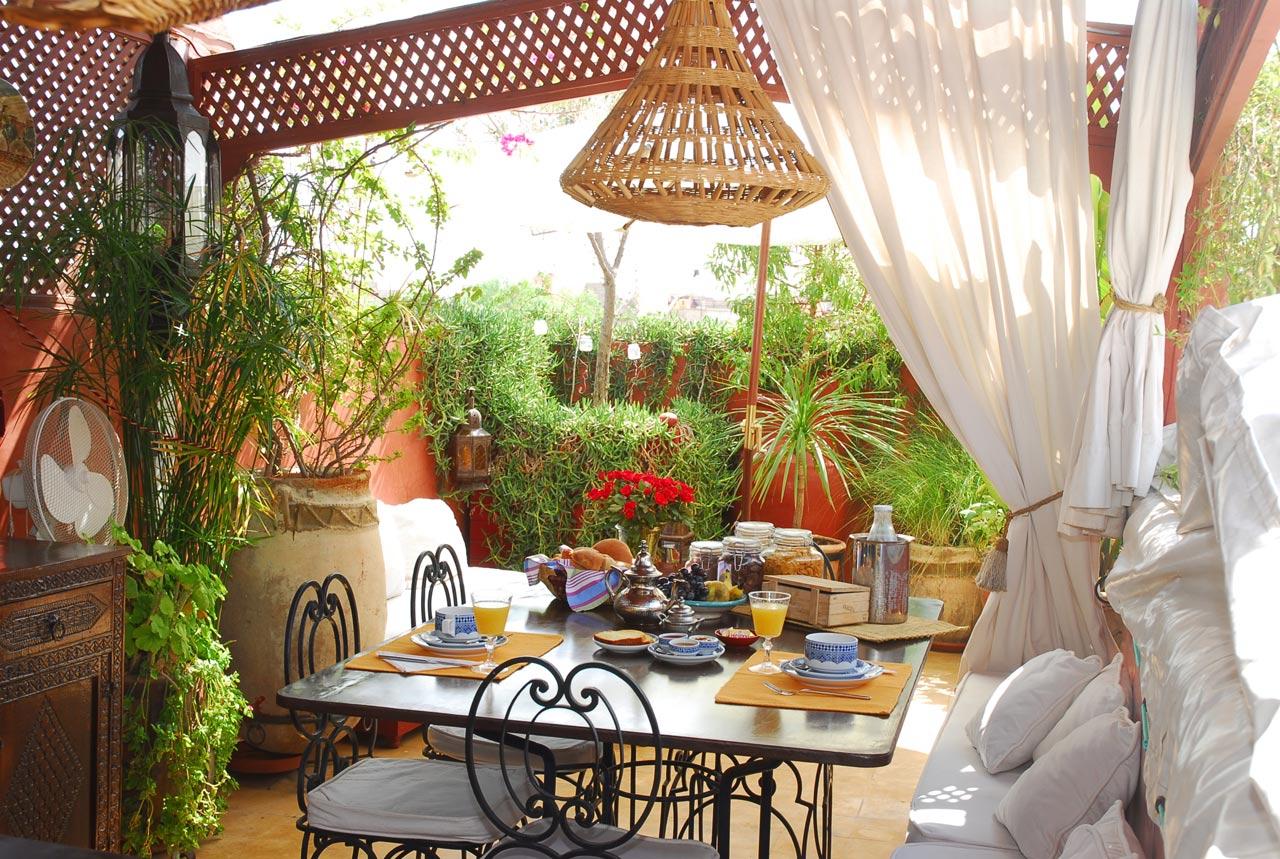 La Terrasse Des Oliviers : Marrakech Guesthouse Riad ... tout Riad Marrakech Avec Piscine
