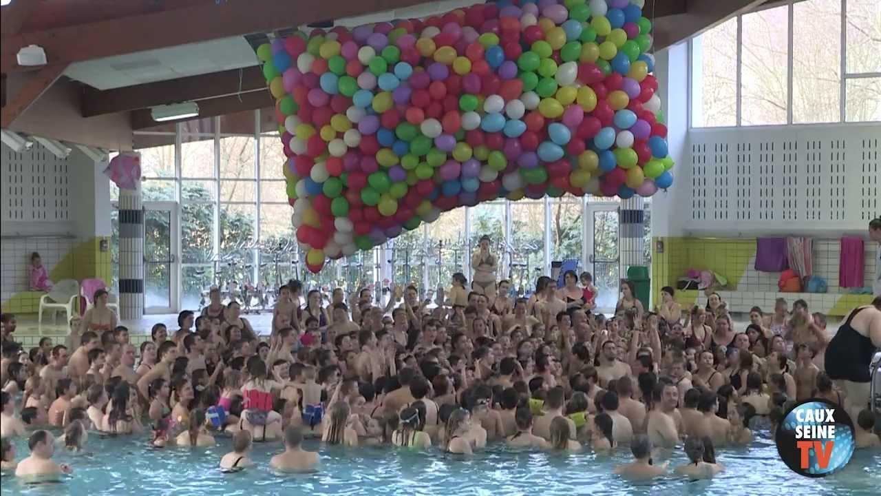 La Vidéo Du Lâcher De Ballons 2014 destiné Piscine Lillebonne
