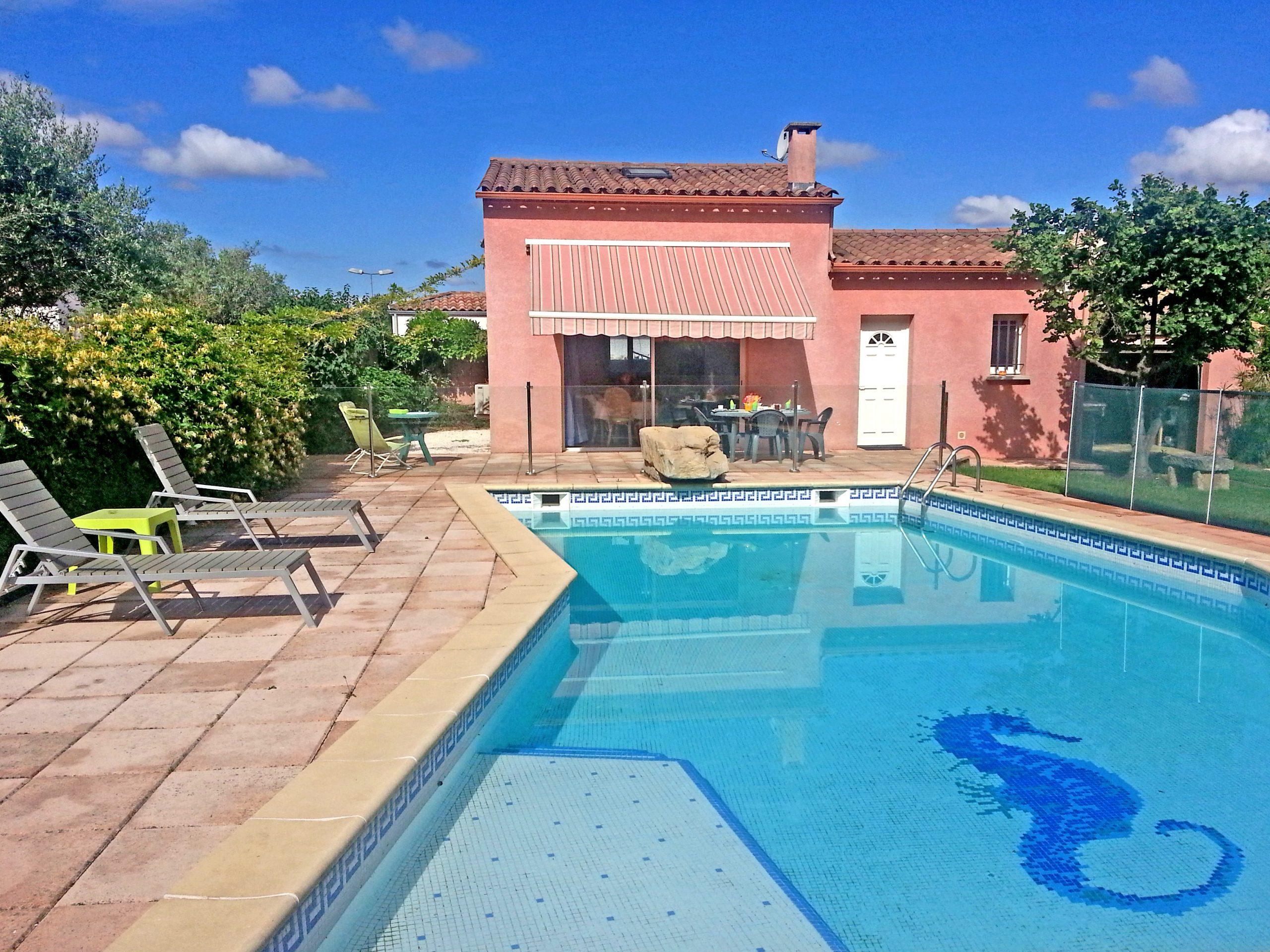 La Villa-Mbolo Un Espace Parfait Pour Des Vacances Au Calme. intérieur Piscine Lansargues