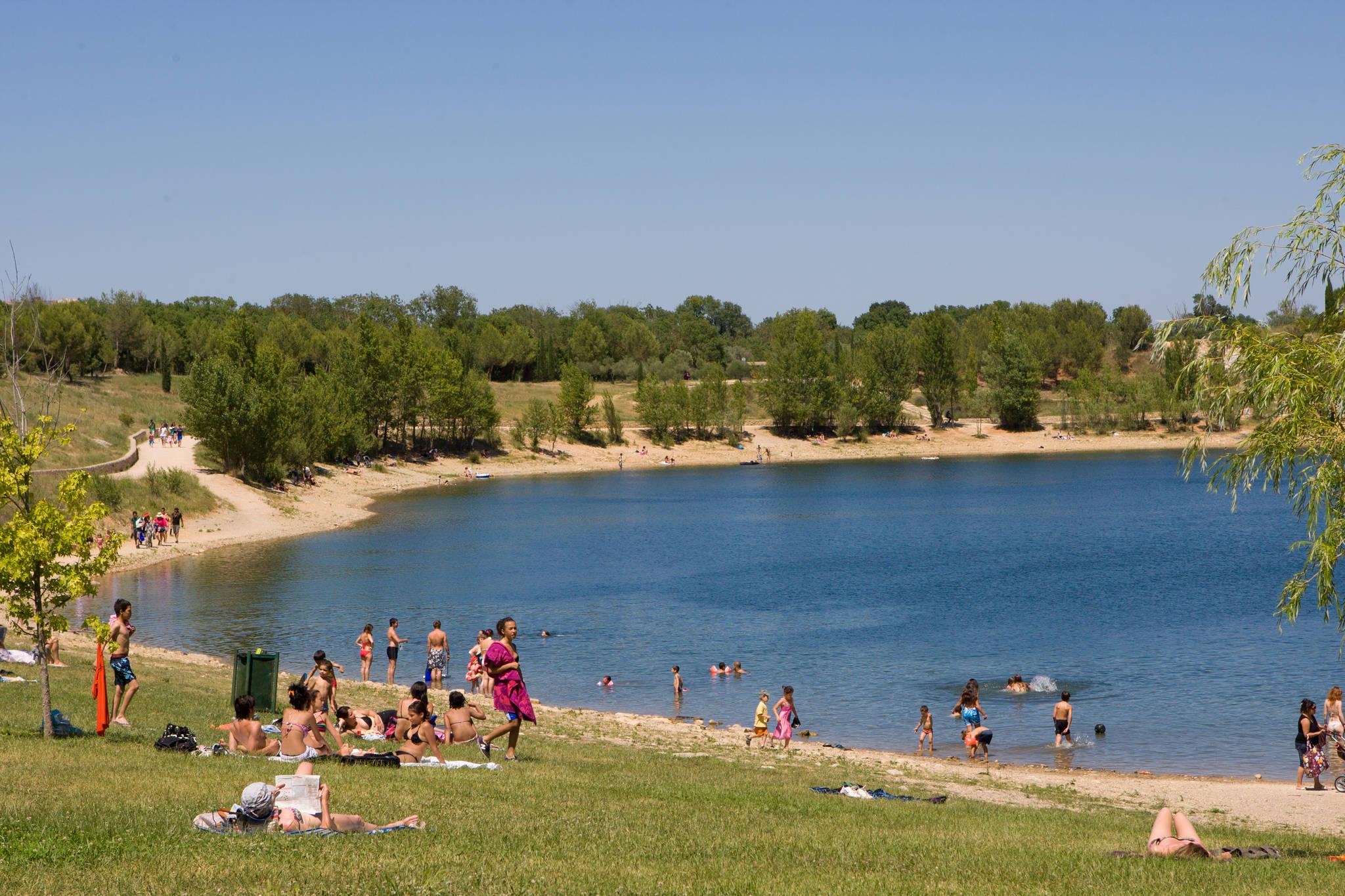 Lac Du Crès, - Tourisme Montpellier dedans Piscine Plus Le Cres