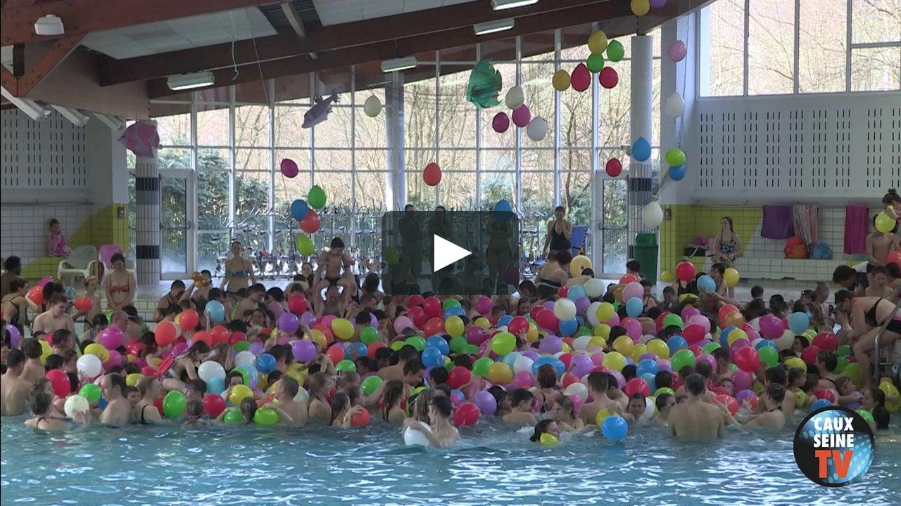 Lâcher De Ballons 2014 Piscine Lillebonne- La Presqu'île On ... à Piscine De Lillebonne