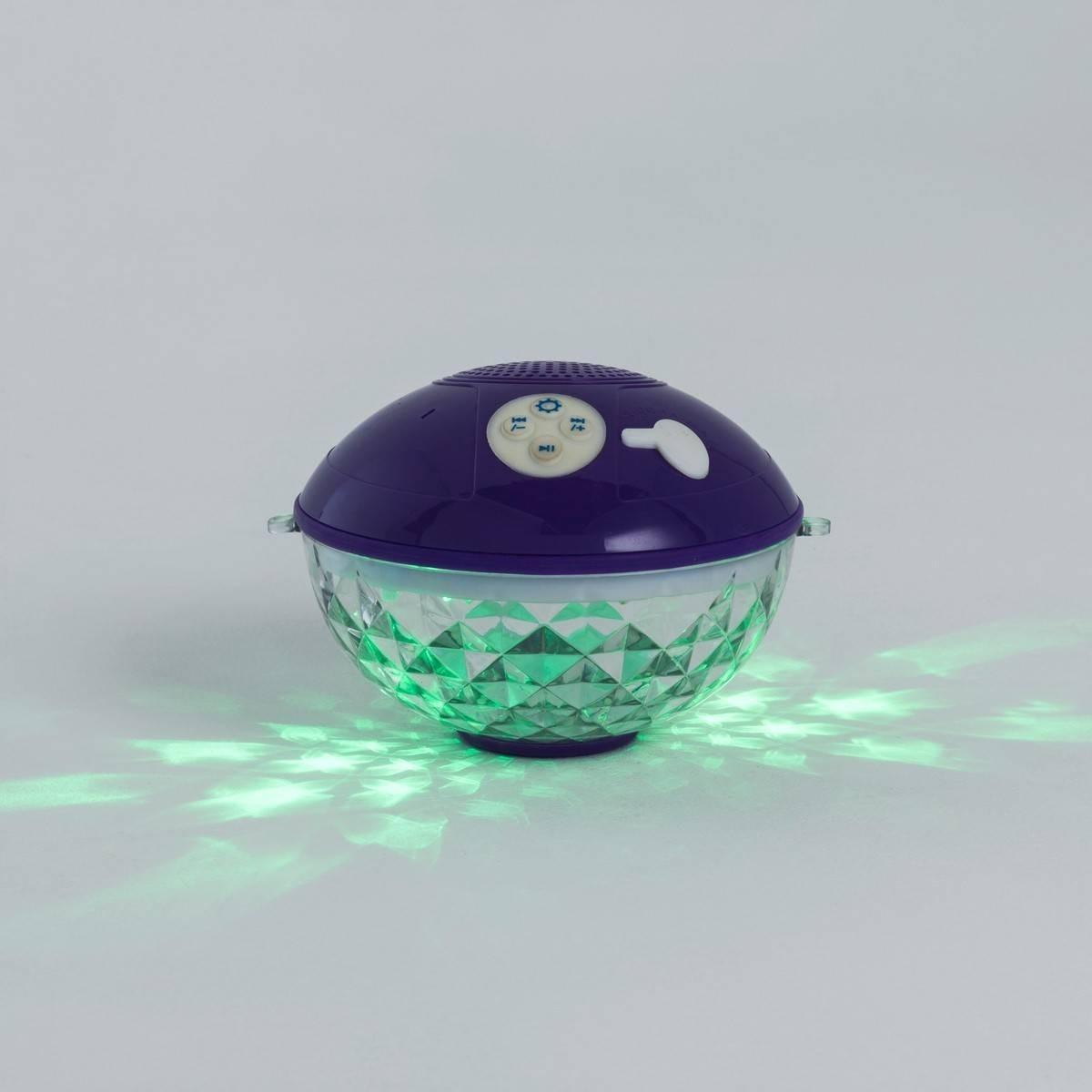 Lampe De Piscine Disco Sans Fil - Enceinte Et Changement De ... dedans Eclairage Piscine Sans Fil