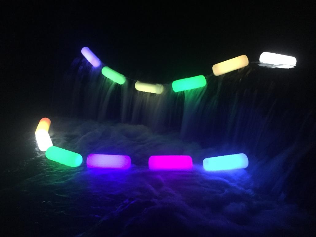 Lampe Flottante, La Bouée Lumineuse Solaire, Boule Lumineuse ... destiné Boule Lumineuse Piscine