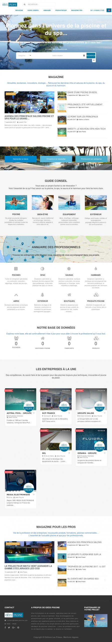 L'annuaire De La Piscine Competitors, Revenue And Employees ... destiné Salon De La Piscine 2017