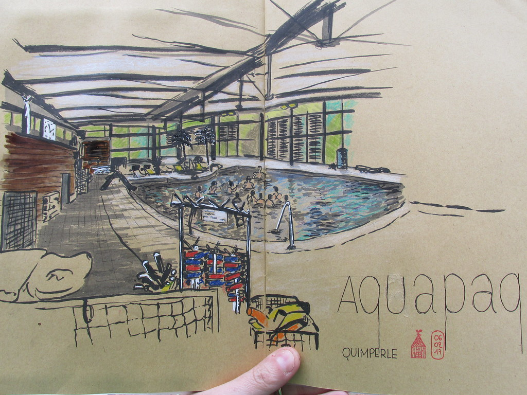 L'aquapaq : Piscine De Quimperlé Le 6 Février 2017 | Flickr destiné Piscine Quimperlé