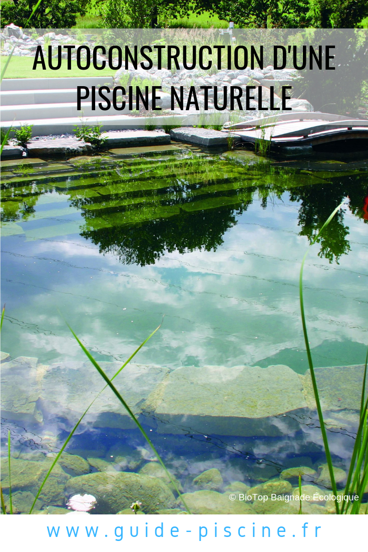 L'autoconstruction D'une Piscine Naturelle | Piscine ... à Autoconstruction Piscine