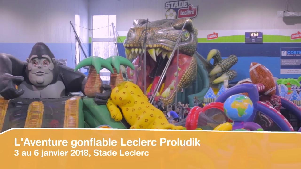 L'aventure Gonflable Leclerc Proludik - Promo 2018 - serapportantà Leclerc Piscine Gonflable