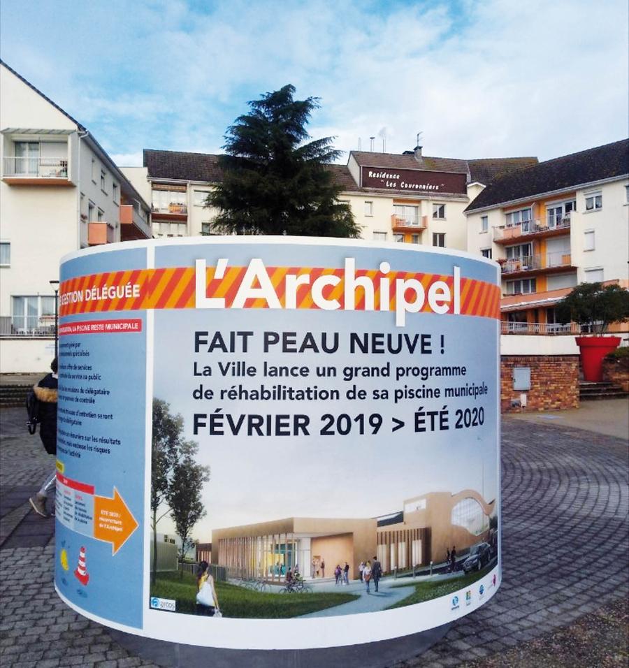Le Calendrier Des Travaux / Réhabilitation De L'archipel ... encequiconcerne Piscine Petit Couronne