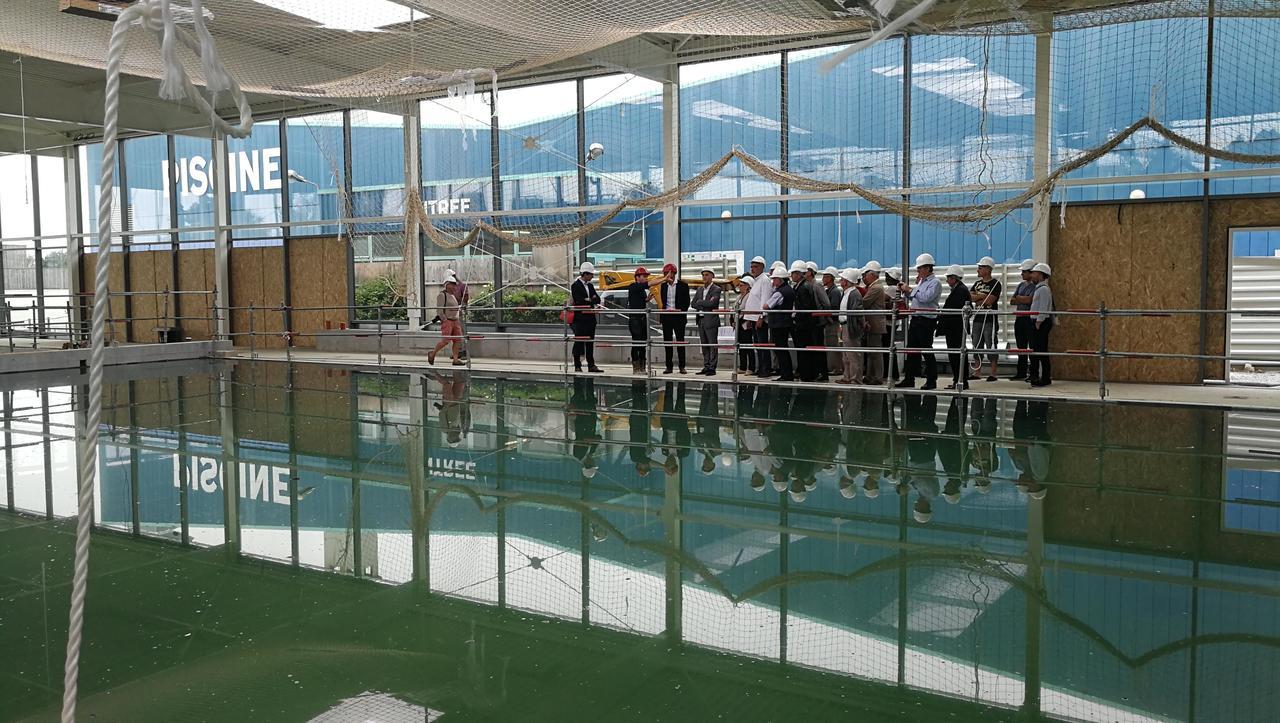 Le Centre Aquatique De Combourg Ouvrira En Décembre | Le ... intérieur Piscine De Combourg