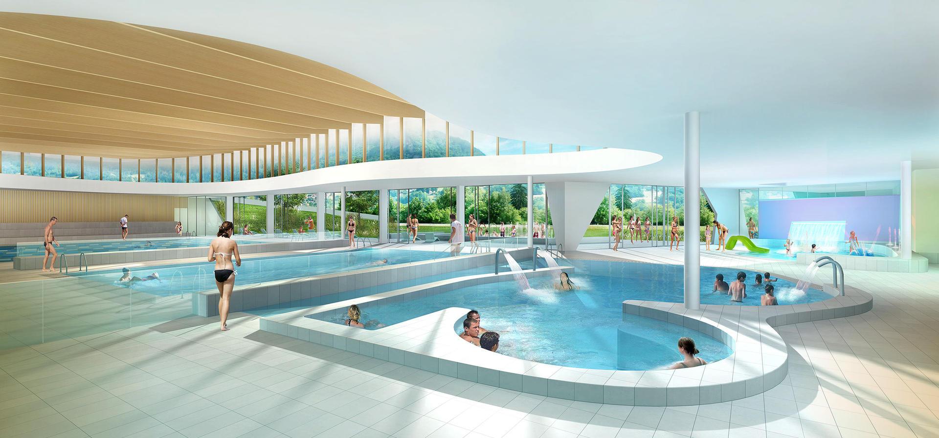 Le Centre Aquatique De Sallanches - Ville De Sallanches à Piscine Sallanches