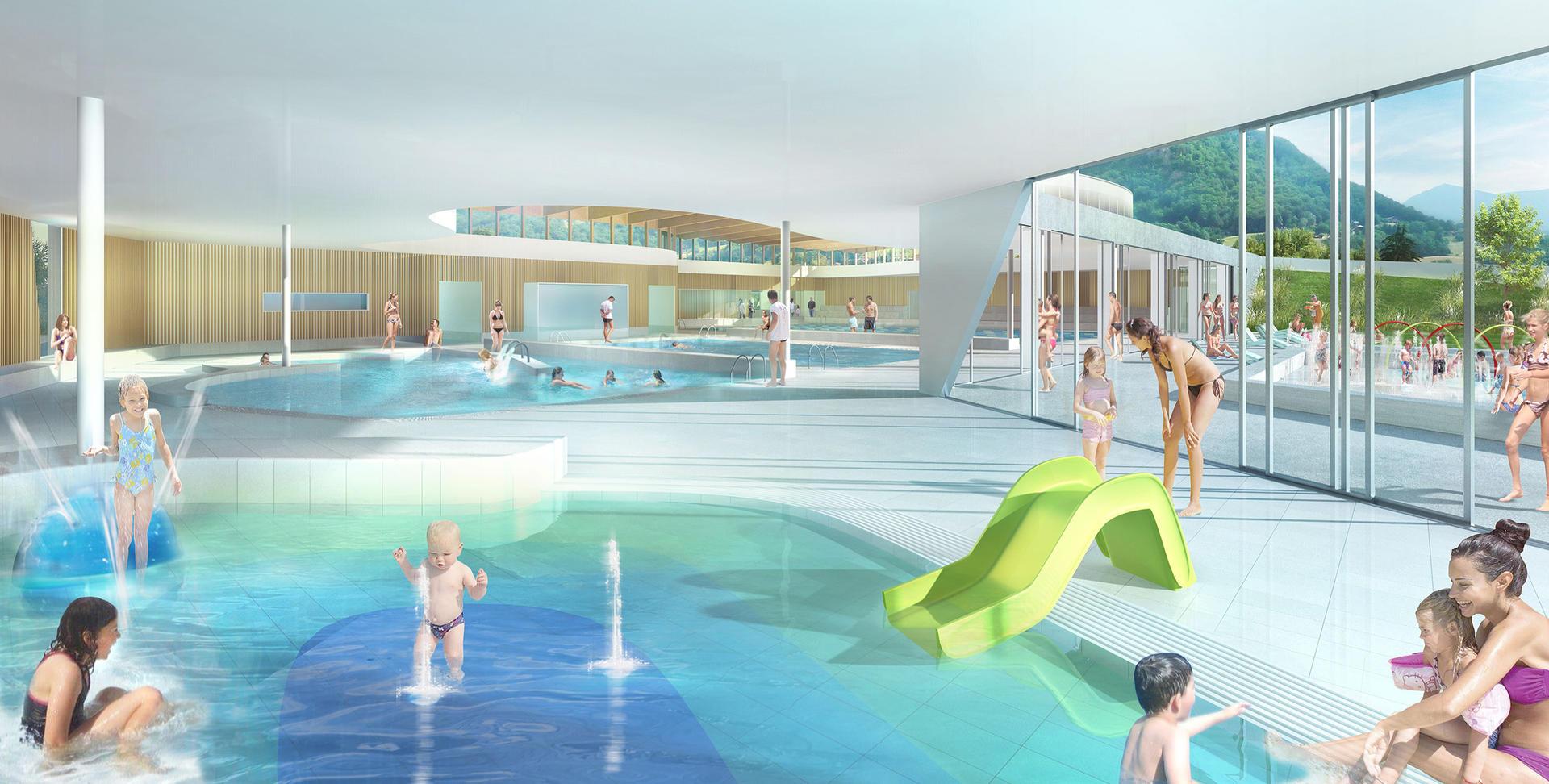 Le Centre Aquatique De Sallanches - Ville De Sallanches dedans Piscine Sallanches