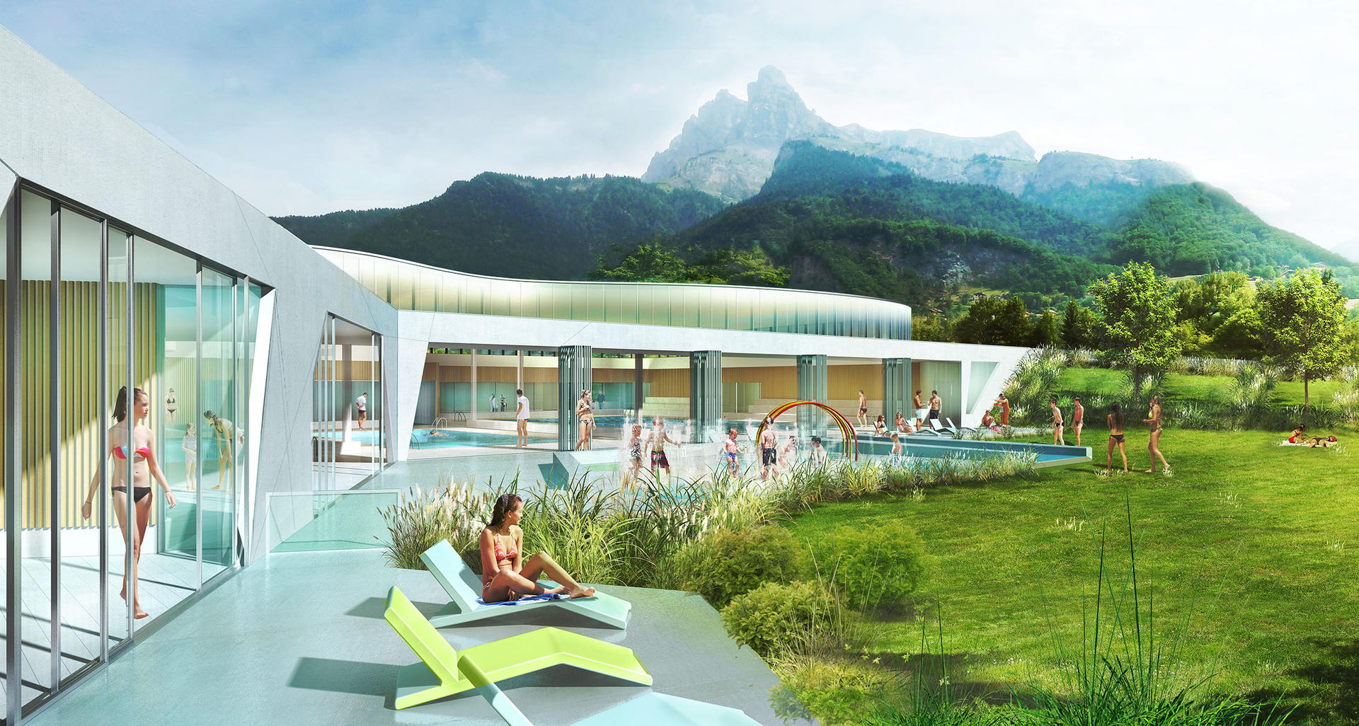 Le Centre Aquatique De Sallanches - Ville De Sallanches tout Piscine Sallanches