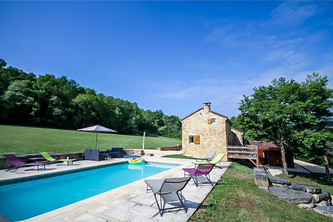 Le Champ De L'ane: Location Maison Vacances Piscine ... destiné Location Dordogne Piscine
