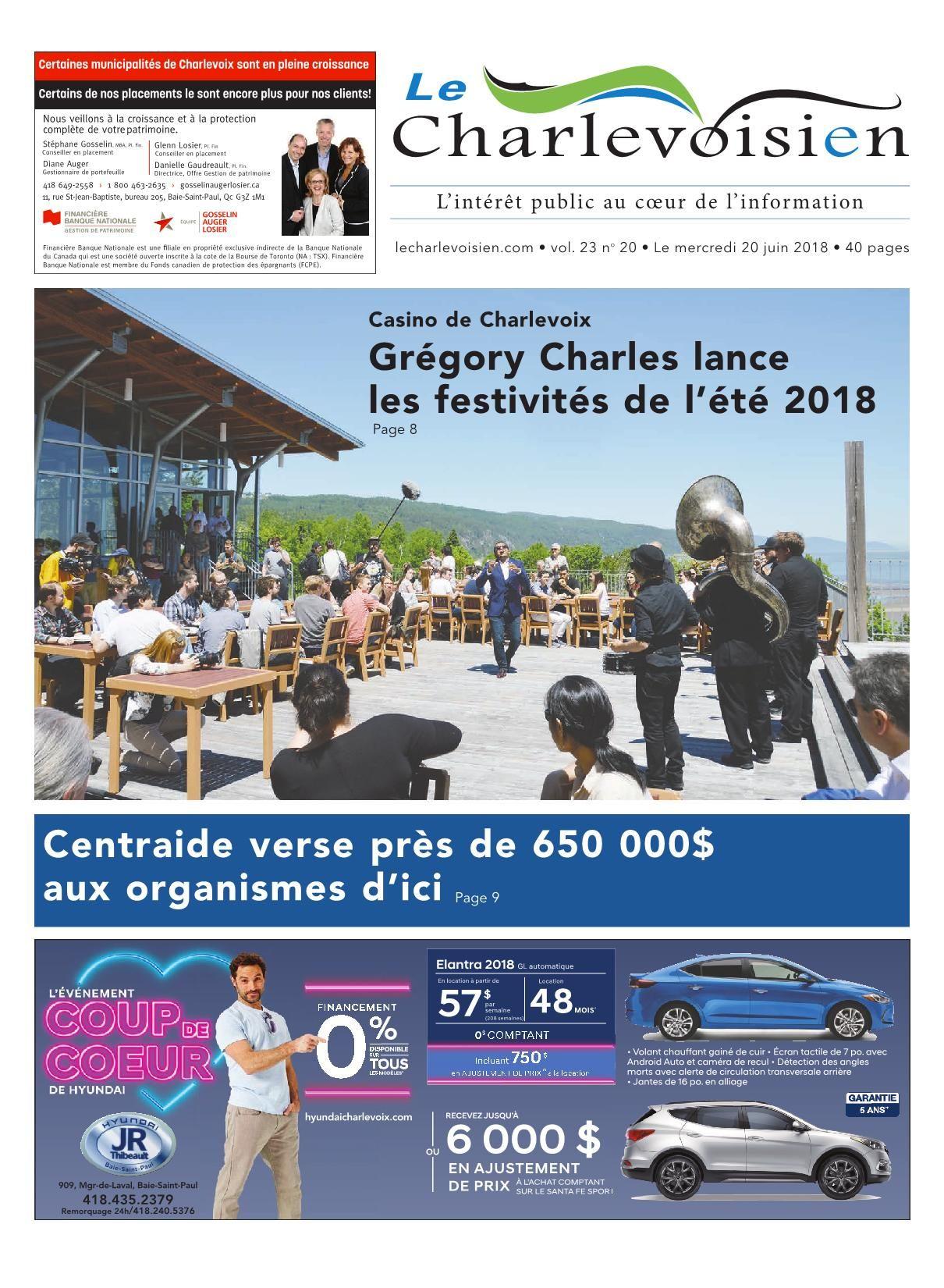 Le Charlevoisien 20 Juin 2018 Pages 1 - 40 - Text Version ... à Piscine Autoportée Leclerc