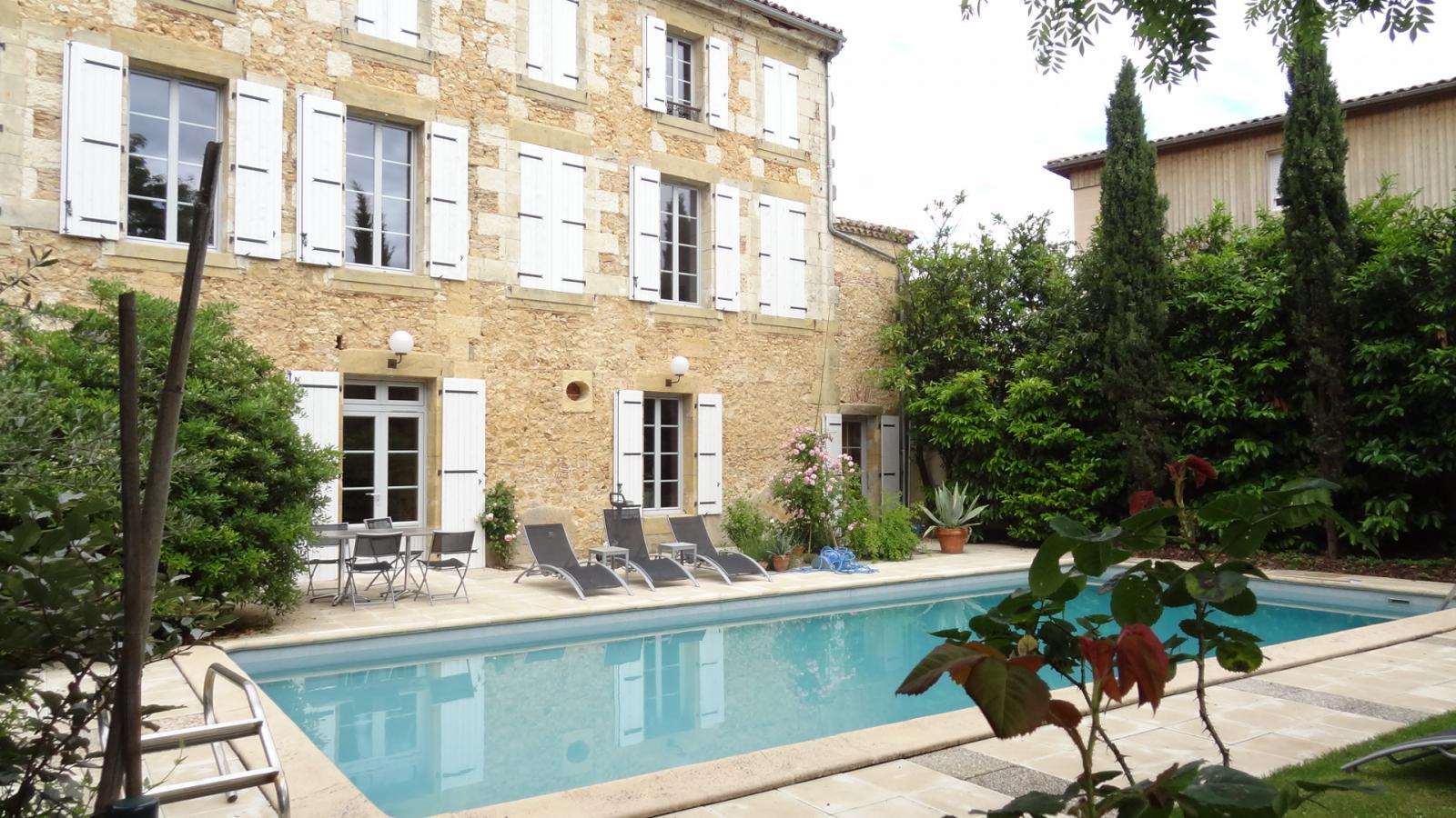 Le Clos D'argenson : Hôtel Et Autre Hébergement Bergerac ... à Horaire Piscine Bergerac