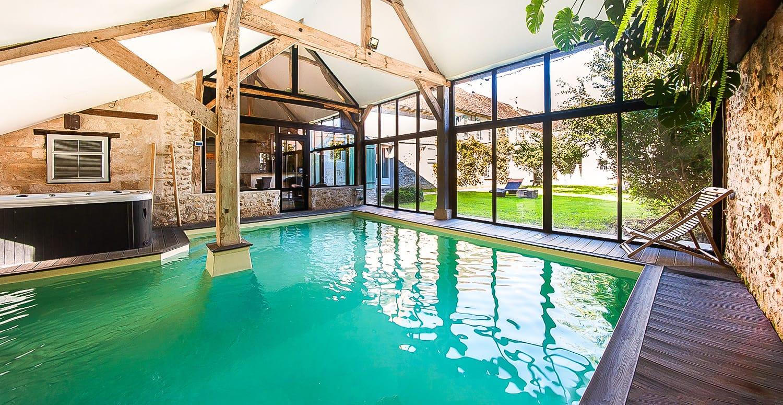 Le Clos Des Vignes • Suite Avec Jacuzzi & Restaurant Romantique pour Hotel Avec Piscine Privee Par Chambre