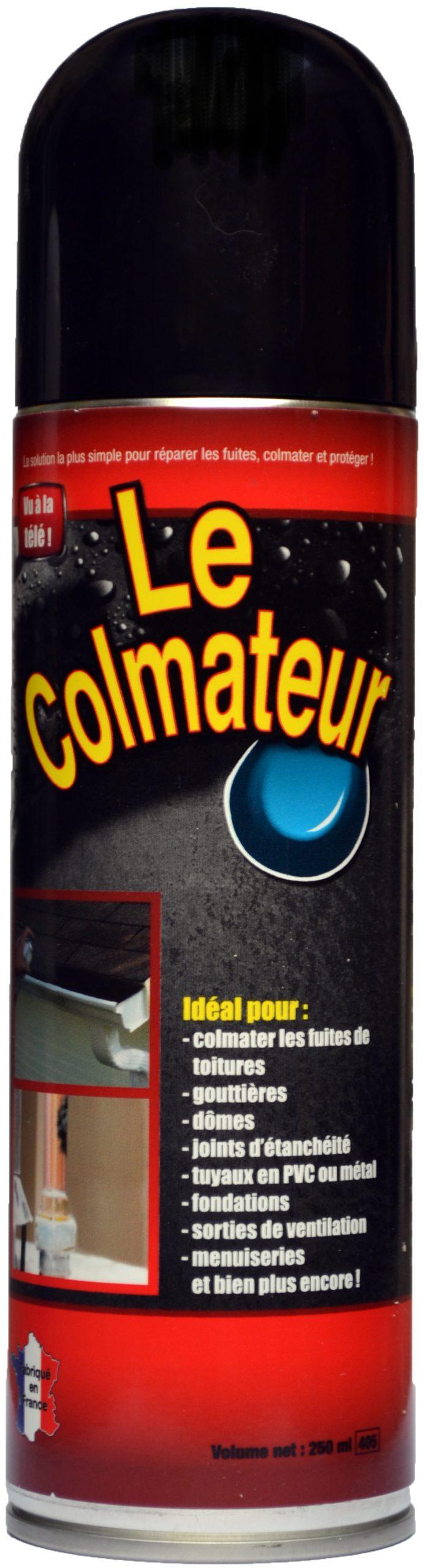 Le Colmateur : Le Spray Bitume Pratique Pour Tout Colmater ... serapportantà Colmateur De Fuite Piscine