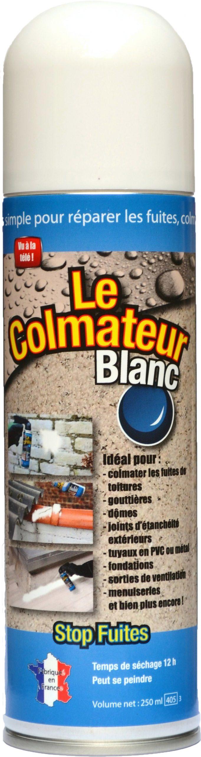 Le Colmateur : Le Spray Bitume Pratique Pour Tout Colmater ... tout Colmateur De Fuite Piscine