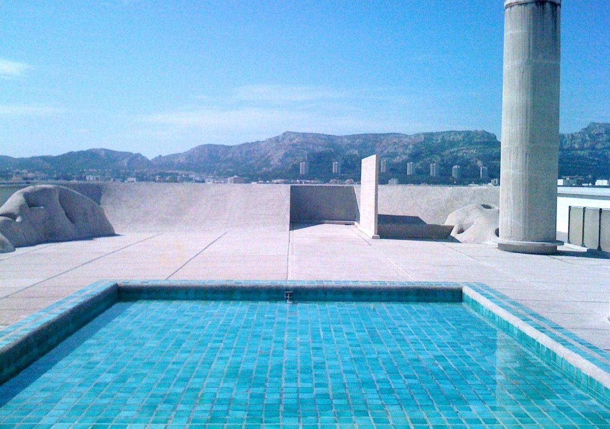 Le Corbusier Radiant City Rooftop - Hotels We Love | Le ... serapportantà Hotel Piscine Marseille
