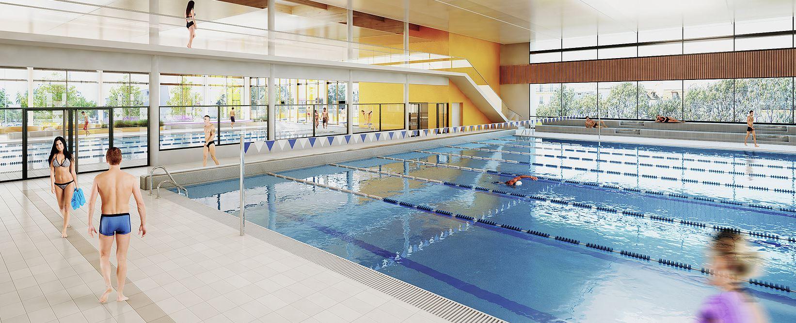 Le Futur Centre Aquatique De Vitry-Sur-Seine En Images | 94 ... dedans Piscine De Sucy En Brie