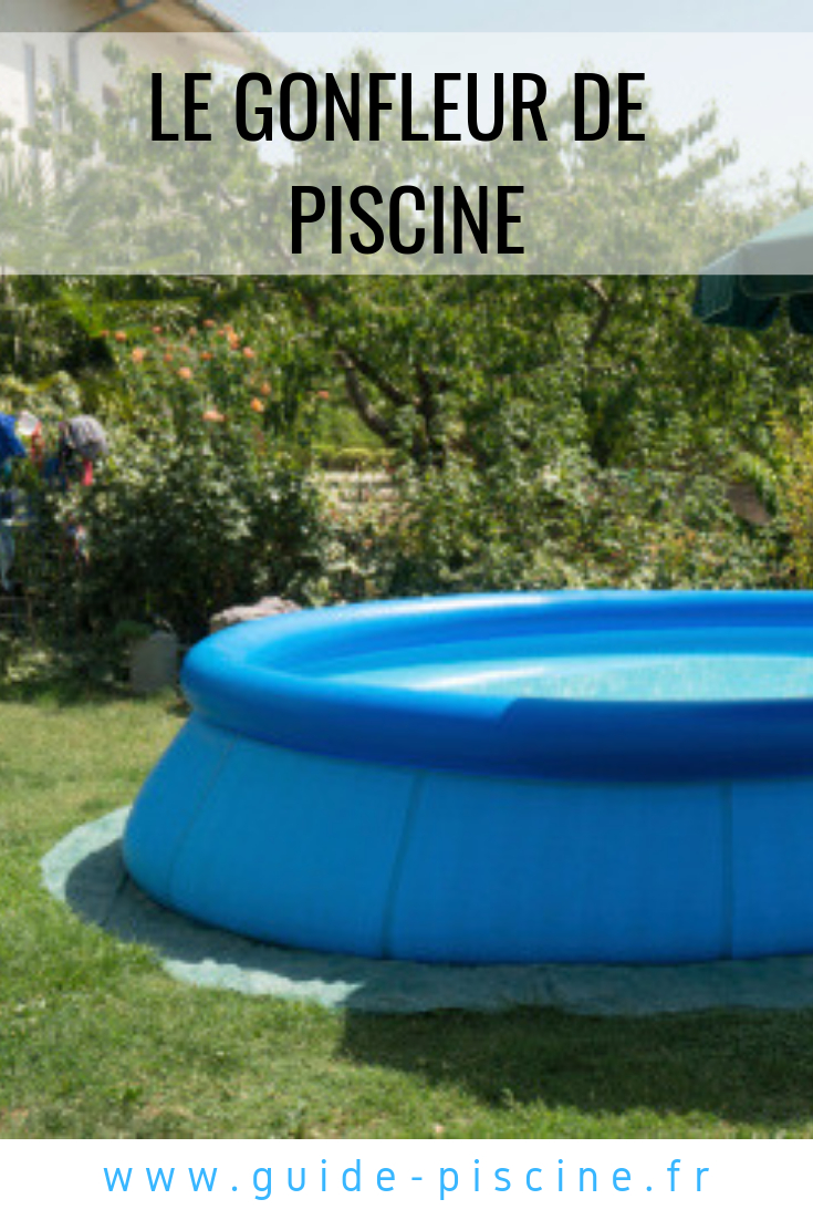 Le Gonfleur De Piscine | Piscine Hors Sol, Entretien Piscine ... tout Gonfleur Piscine