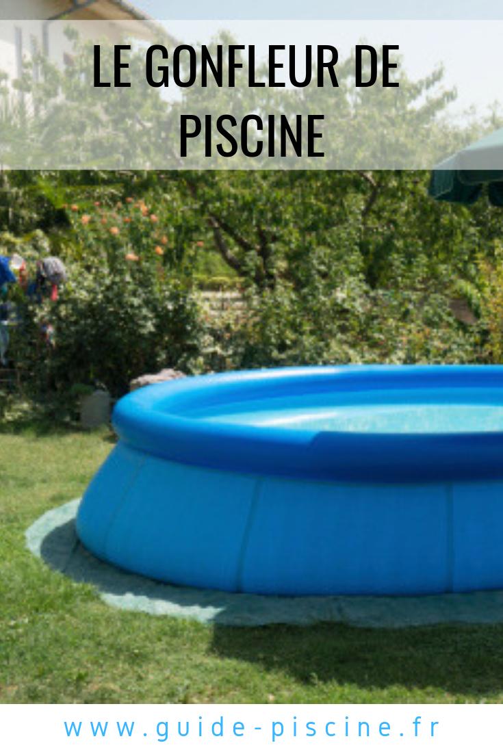 Le Gonfleur De Piscine | Piscine Hors Sol, Entretien Piscine ... tout Nettoyage Piscine Hors Sol