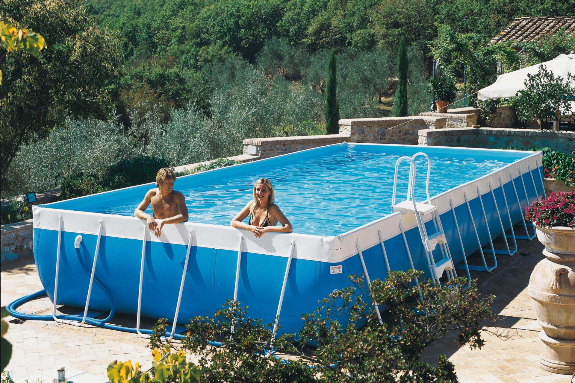 Le Guide Complet Des Piscines Hors-Sol - Aquapolis concernant Piscine Hors Sol Haut De Gamme
