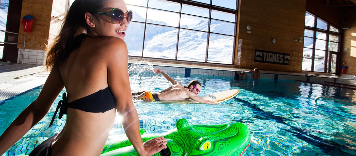 Le Lagon Tignes - Espace Aquatique En Savoie tout Piscine Tignes