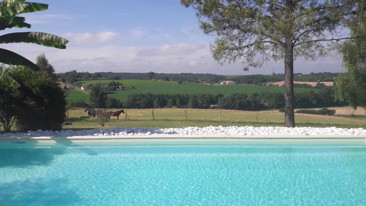 Le Manoir De Gaboria B&b (Fransa Sainte-Gemme) - Booking à Piscine Langon