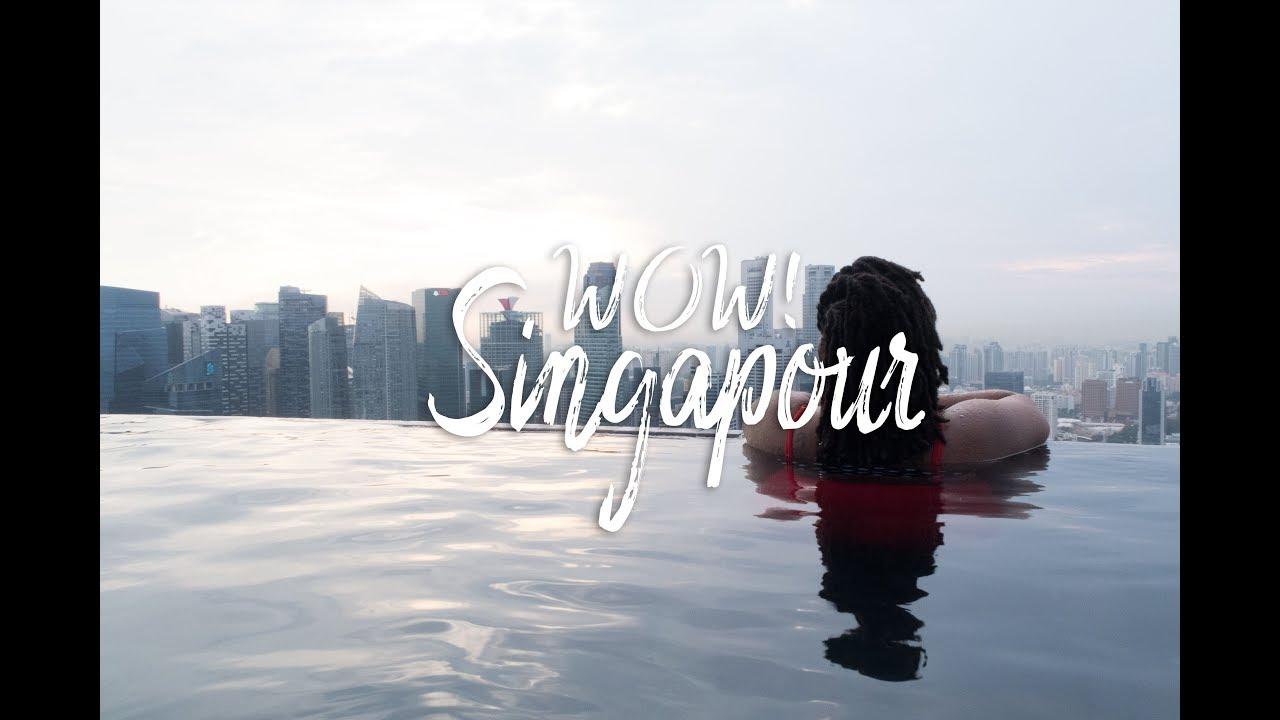 Le Marina Bay Sands Et Sa Piscine - Singapour 🇸🇬 - Vlog #08 (Septembre  2017) concernant Piscine Singapour