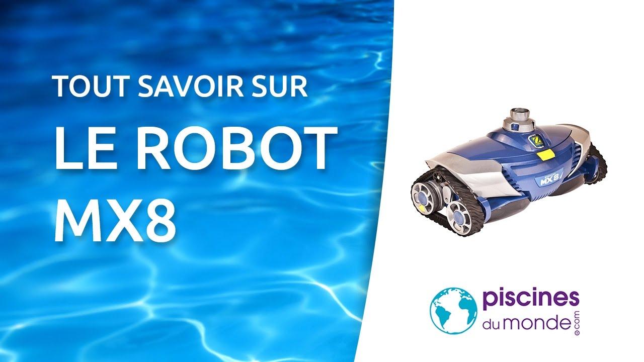Le Robot De Piscine Mx8 De Zodiac pour Robot Piscine Zodiac Mx8