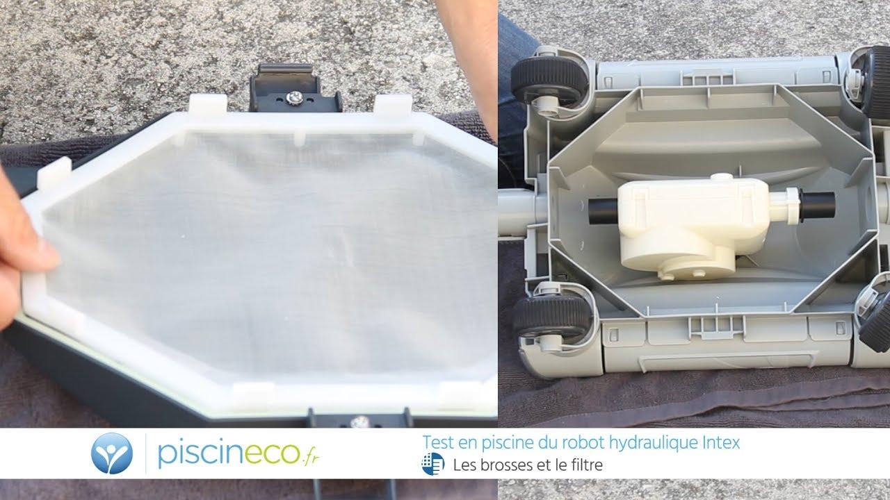 Le Robot Pour Piscine Hors Sol Intex - Réf 28001 avec Aspirateur De Fond Pour Piscine Hors Sol
