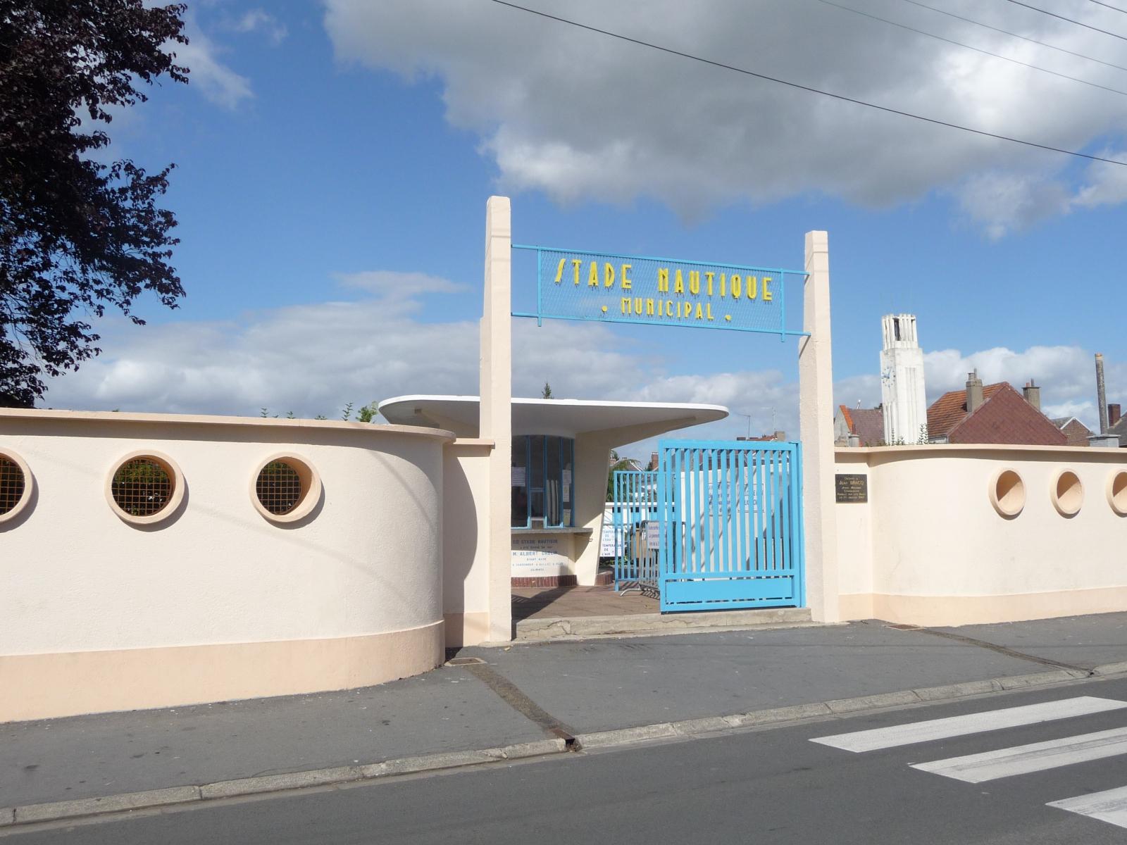 Le Stade Nautique, Caudry (59)   Caue Du Nord à Piscine Caudry