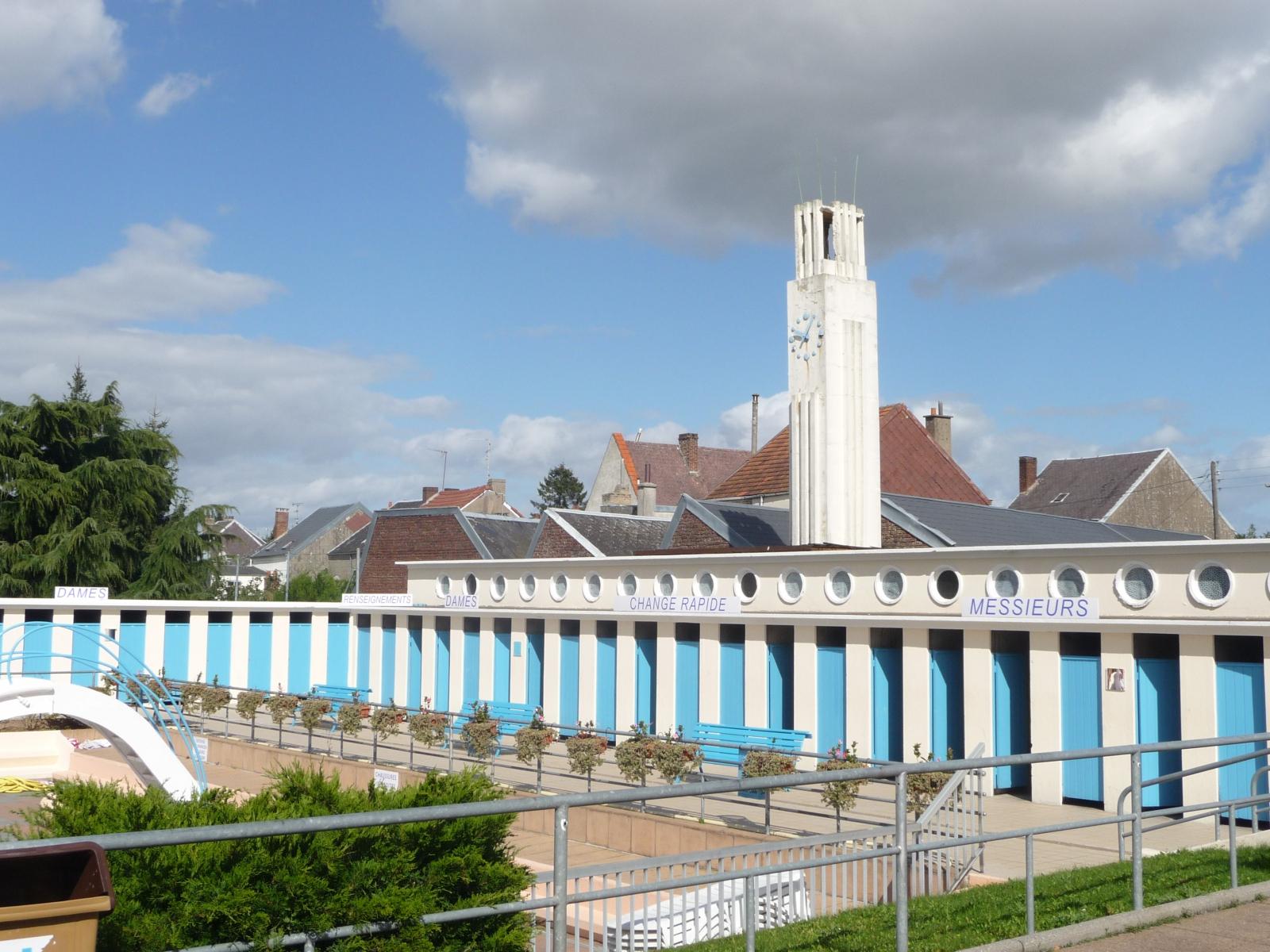 Le Stade Nautique, Caudry (59) | Caue Du Nord concernant Piscine De Caudry