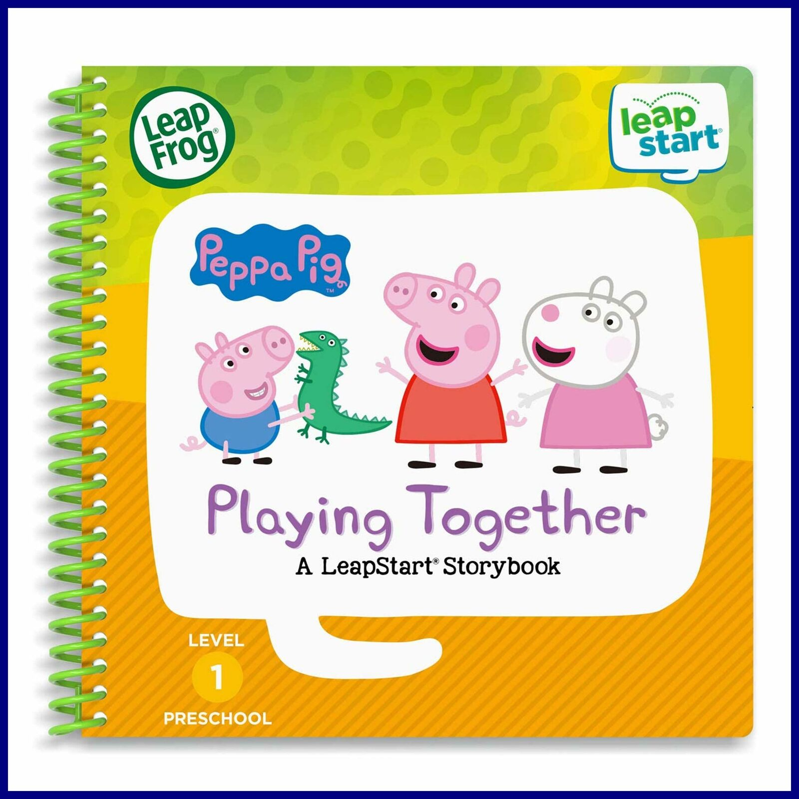 Leapstart 3D Peppa Pig Playing Together Book Level 1 Free Shipping pour Peppa Pig À La Piscine