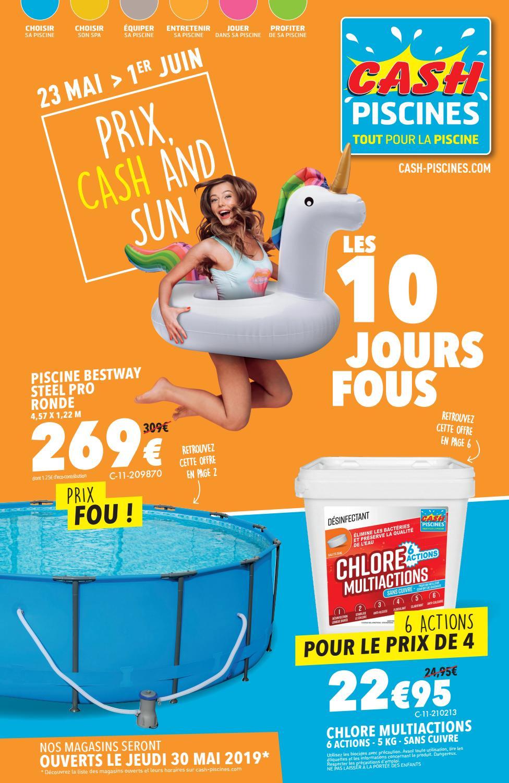 Les 10 Jours Fous ! By Cashpiscines2 - Issuu concernant Cash Piscine Manosque