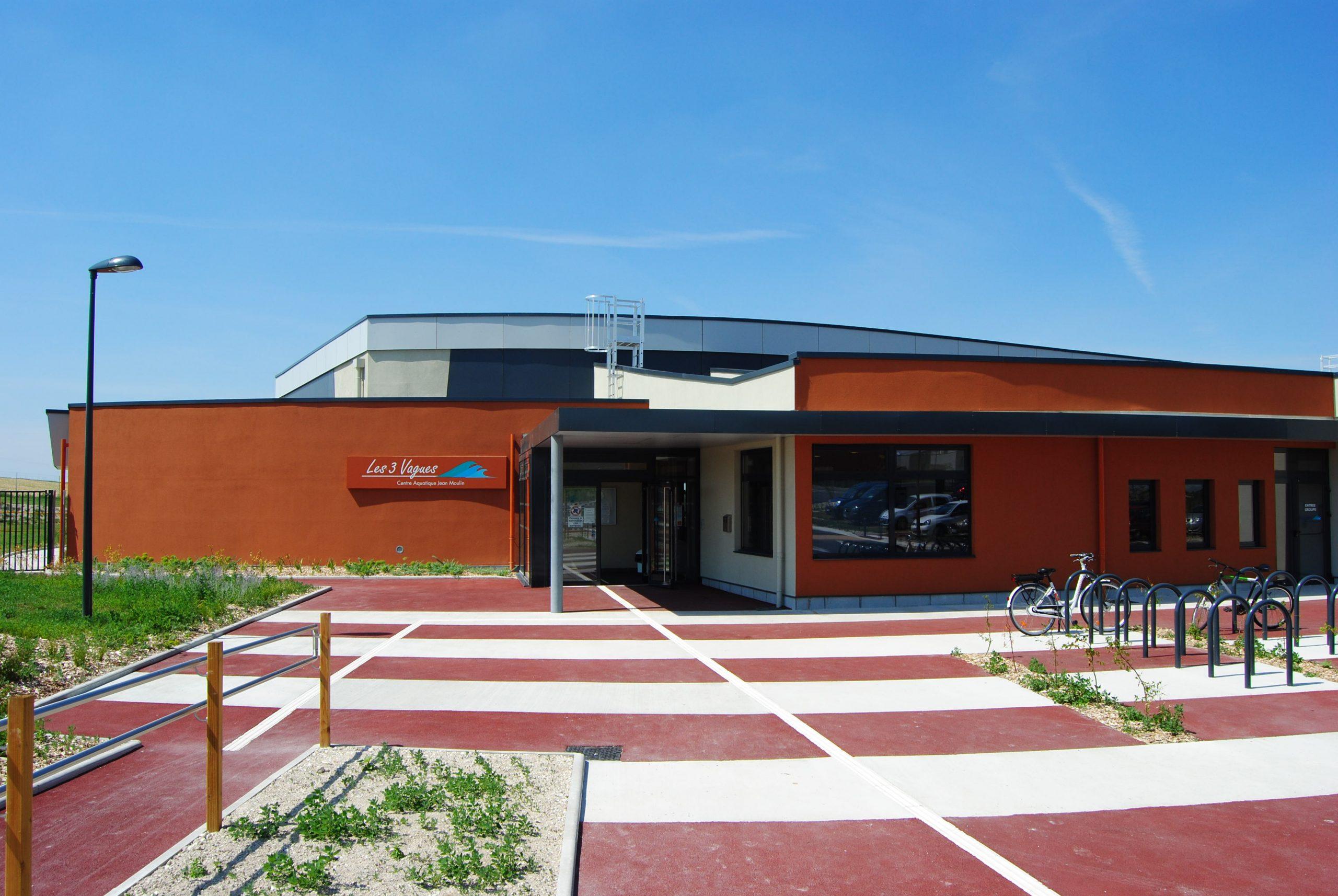 Les 3 Vagues - Centre Aquatique Jean Moulin À Romilly-Sur ... pour Piscine Romilly Sur Seine
