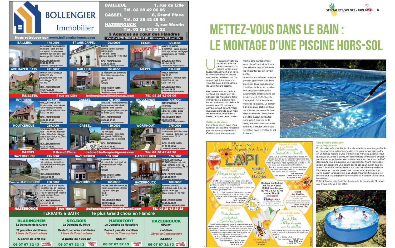 Les Bons Plans De L'été Avec L'indicateur Des Flandres By ... pour Piscine Hazebrouck
