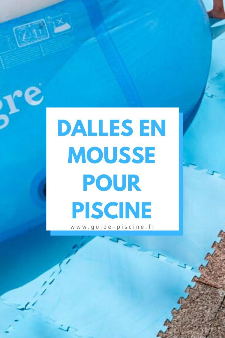 Les Dalles En Mousse Pour Piscine | Piscine, Terrasse Beton ... encequiconcerne Dalle Mousse Piscine