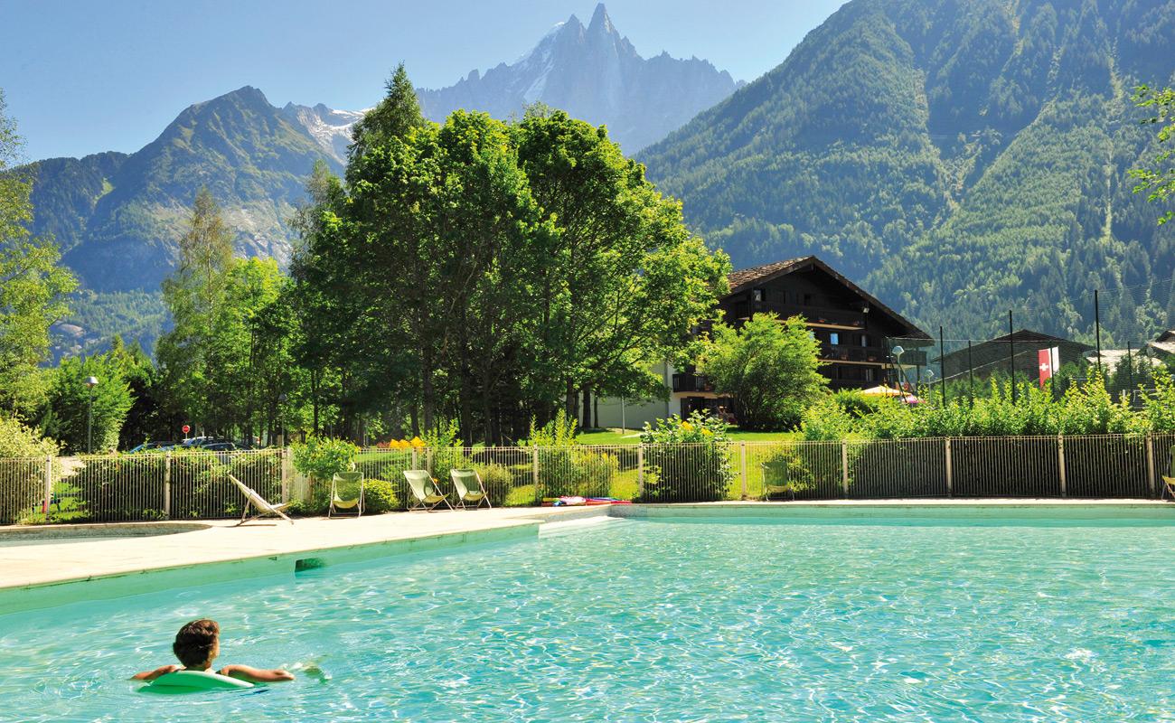 """les Econtres"" Vtf Holiday Village To Chamonix avec Piscine De Chamonix"