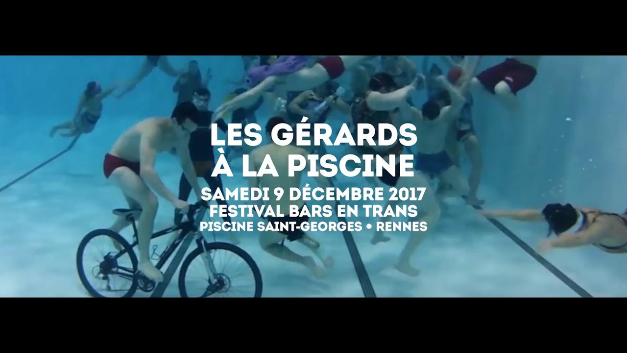 Les Gérards À La Piscine • Bars En Trans • Samedi 9 Décembre serapportantà Piscine Coliseum