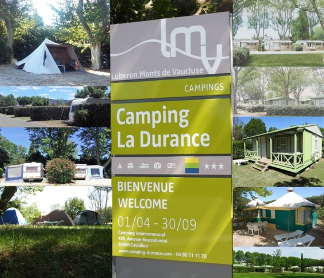 Les Meilleurs Campings À Cavaillon En 2020 (Avec Prix ... concernant Camping Lubéron Avec Piscine