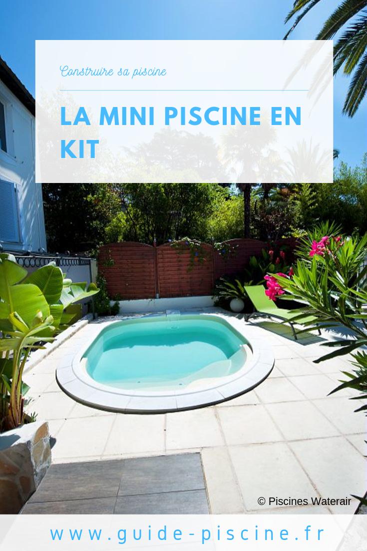 Les Minis Piscines En Kit : Une Petite Installation ... avec Piscine Originale